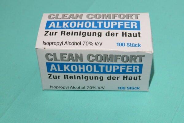 Unigloves Alkoholtupfer, steril, 100 Stück Packung, Art.Nr. RA-5052 1