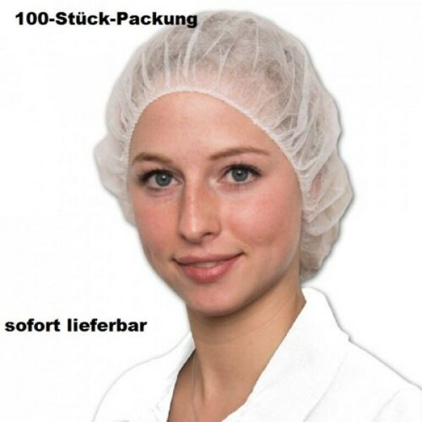 Einweg Schwesternhaube, Kosmetikhaube,  100 Stück Packung Art. Nr. RA-1580 1
