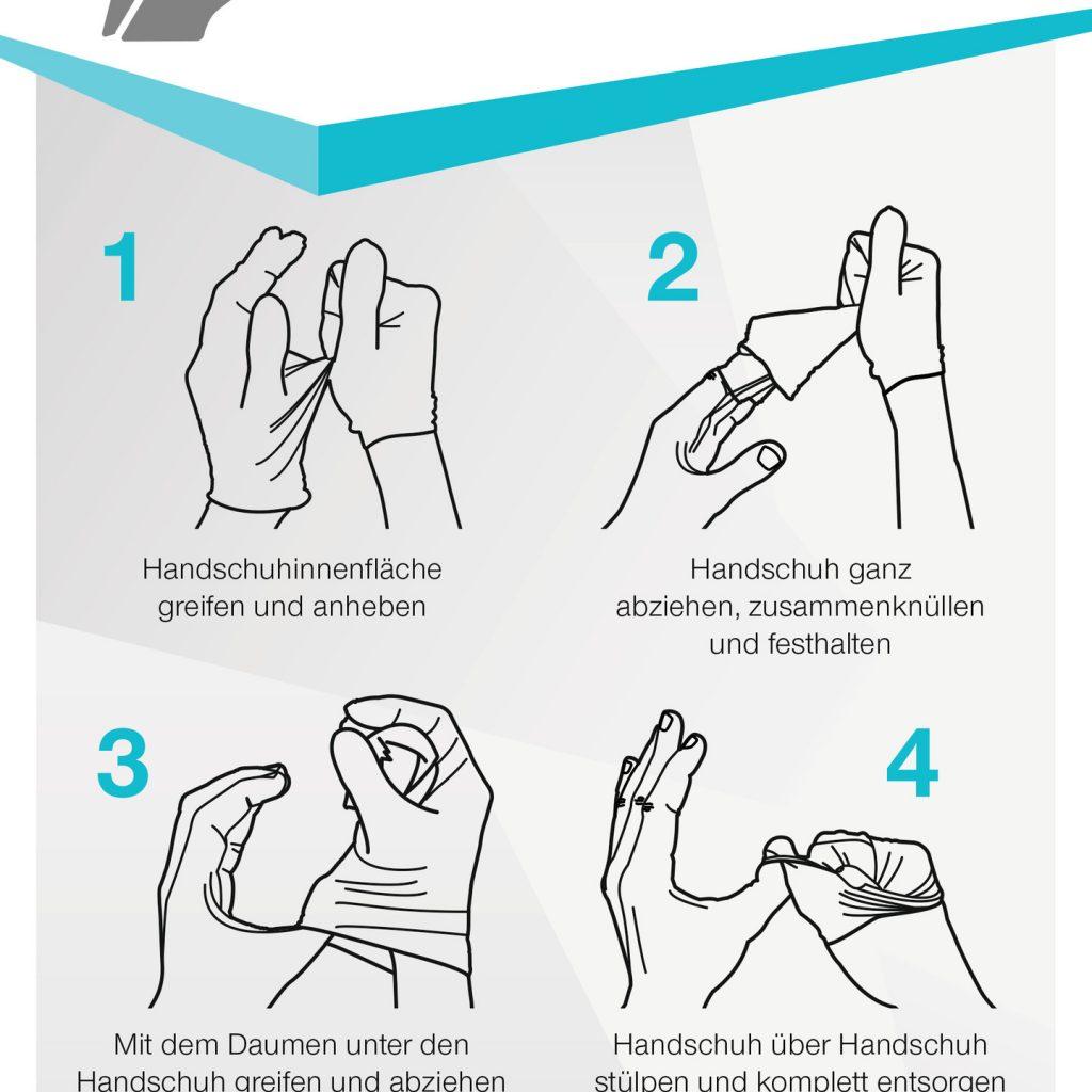 Nitril-Einmalhandschuhe, Lila GR: S  100 Stück/Box Artikel-Nr.: RU-2916502 2