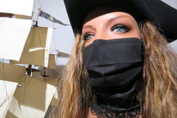 "Alltagsmaske Modell ""Liberty Pirate"" 1"