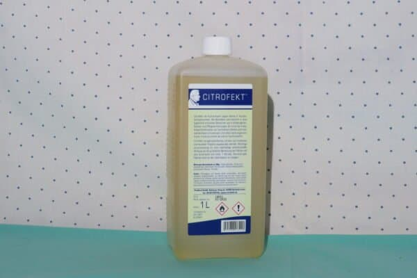 Ökologisches Desinfektionsmittel Citrofekt - Bio-Schnelldesinfektion, 1 Liter Euro-Rechteckflasche mit Klappscharnierverschluss 2