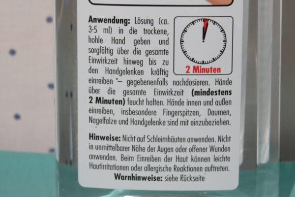 Hände-Desinfektion SONAX 250ml 3