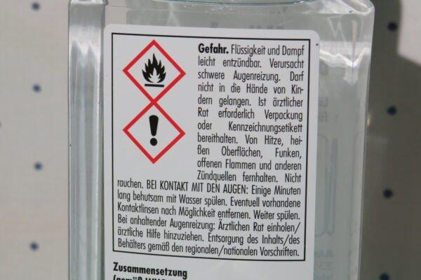 Hände-Desinfektion SONAX 250ml 4