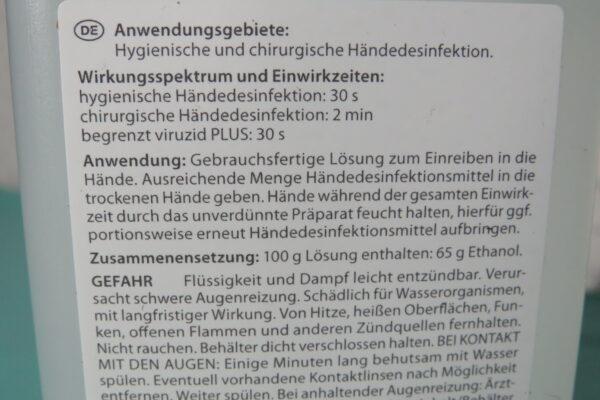 Dr. Schumacher Aseptoman MED, 500ml alkoholisches Händedesinfektionsmittel, VAH-gelistet (33,90/L) 5
