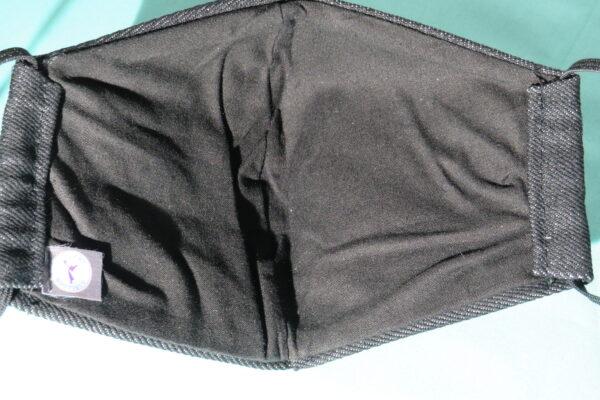 """Alltagsmaske Modell """"Skyline Bull Riding- Jeans"""" 4"""