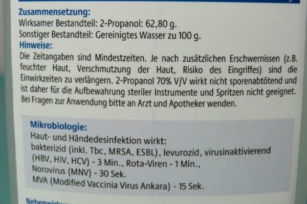 Haut- und Händedesinfektion UNIGLOVES 500ml (33,98/L) 5