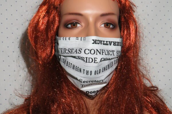 "Alltagsmaske Modell ""Liberty Journalist"" 1"