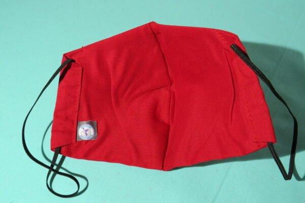 """Alltagsmaske Modell """"Skyline Red"""" 4"""