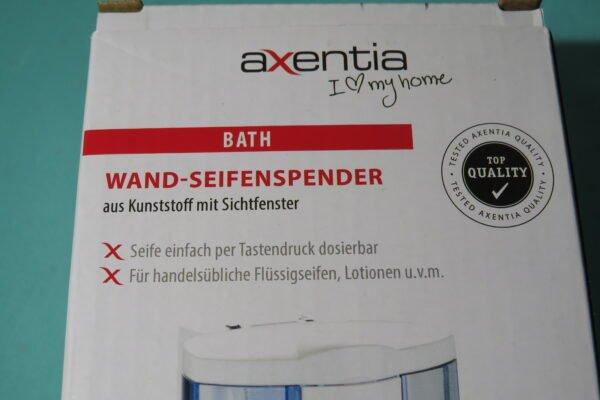 Wand-Seifen-/Desinfektionsspender Axentia, 380ml, Art.Nr. RA-6152 7