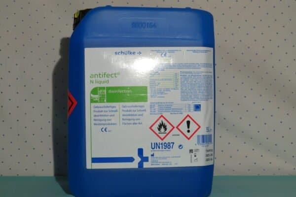 Schülke antifect N liquid Desinfektion zur Desinfektion von Medizinprodukten und Flächen, 5Liter Kanister(1Liter/€11,98) 1