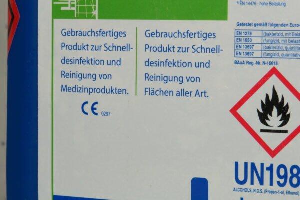 Schülke antifect N liquid Desinfektion zur Desinfektion von Medizinprodukten und Flächen, 5Liter Kanister(1Liter/€11,98) 2