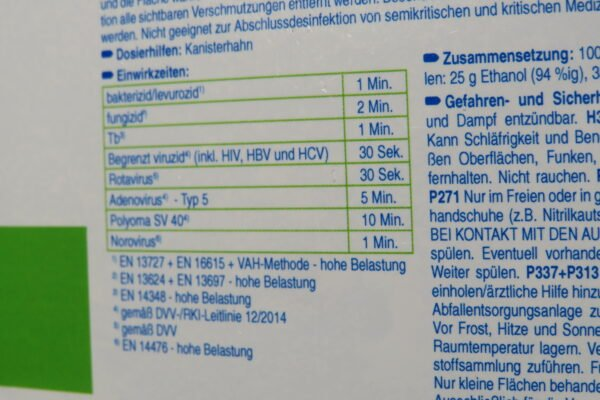 Schülke antifect N liquid Desinfektion zur Desinfektion von Medizinprodukten und Flächen, 5Liter Kanister(1Liter/€11,98) 3