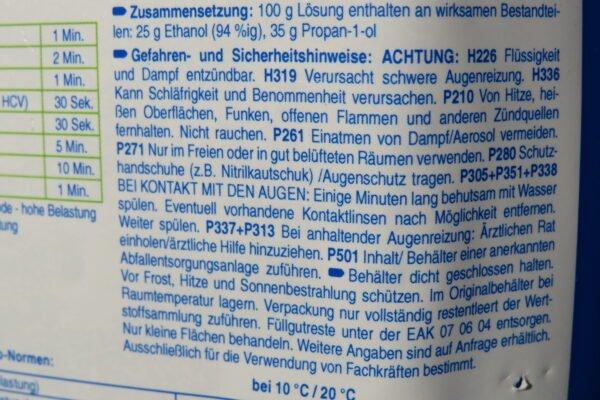 Schülke antifect N liquid Desinfektion zur Desinfektion von Medizinprodukten und Flächen, 5Liter Kanister(1Liter/€11,98) 4