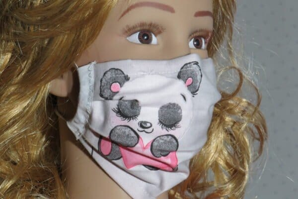 "2x Alltagsmaske Modell ""Liberty Kids Princess"" 1"