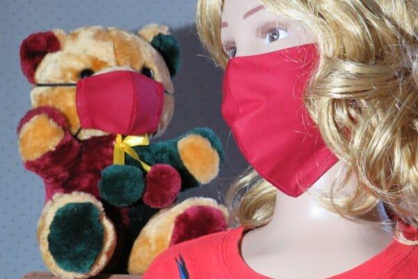 "Alltagsmaske Modell ""Kids Teddy 1"" 1"