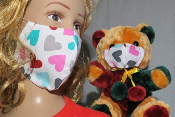 "Alltagsmaske Modell ""Kids Teddy 2"" 1"