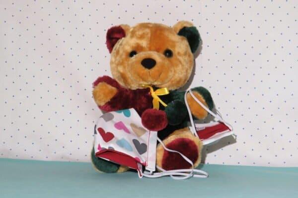 "Alltagsmaske Modell ""Kids Teddy 2"" 4"
