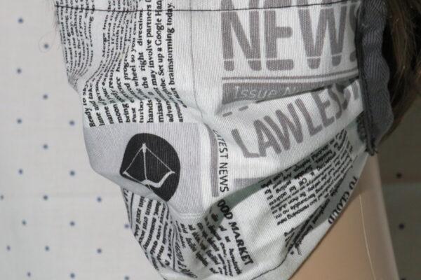 "Alltagsmaske Modell ""Liberty Journalist 2"" 5"