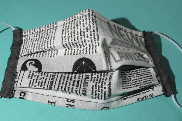 "Alltagsmaske Modell ""Liberty Journalist 2"" 3"