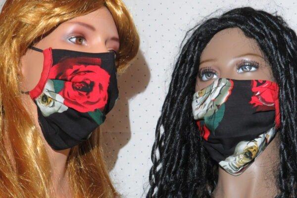 """2x Alltagsmaske Modell """"Liberty Golden Girlfriends"""" 1"""