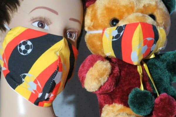 "Alltagsmaske Modell ""Kids Teddy 3"" 1"