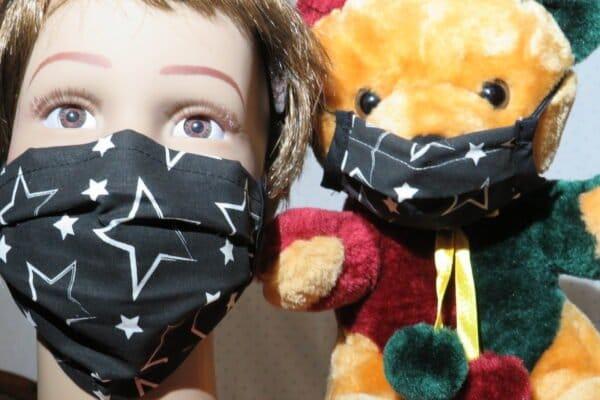 "Alltagsmaske Modell ""Kids Teddy 5"" 1"