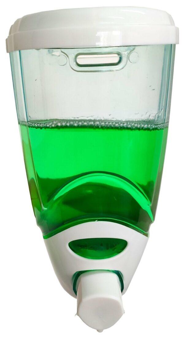 Seifenspender Desinfektionsmittelspender Desinfektionsspender Handseifenspender 850 ml | Wandmontage | Montagematerial im Lieferumgang 2
