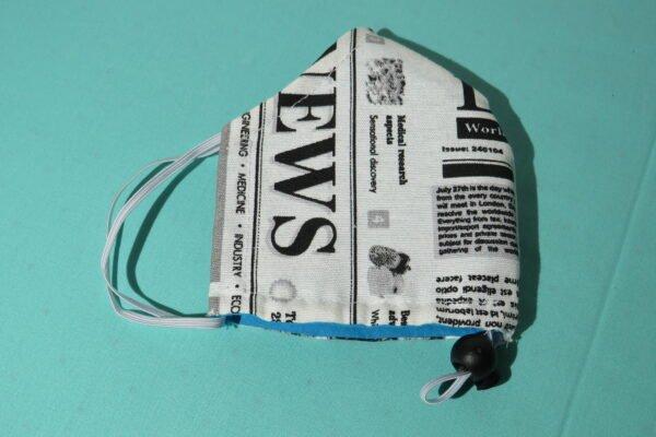 "Alltagsmaske Modell ""Skypilot Journalist"" 5"