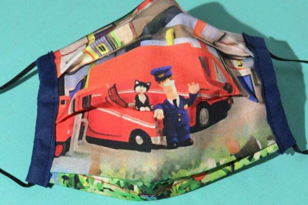 "Alltagsmaske Modell ""Liberty Kids Firefighter"" 3"