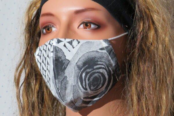 """Alltagsmaske Modell """"Skyline Rose Art"""" 1"""