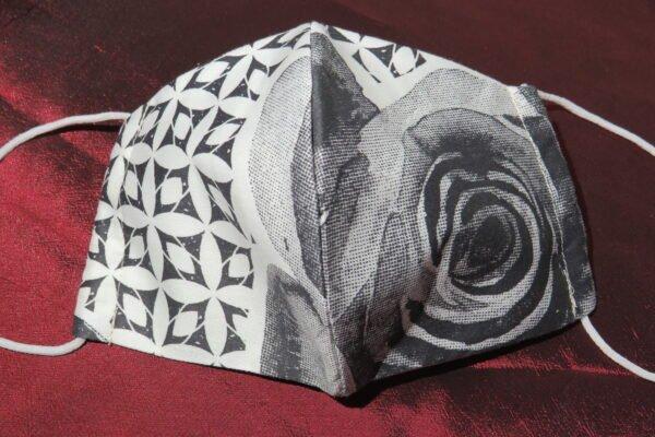 """Alltagsmaske Modell """"Skyline Rose Art"""" 2"""