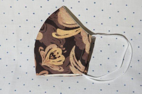 """Alltagsmaske Modell """"Skyline Floral Art"""" 4"""