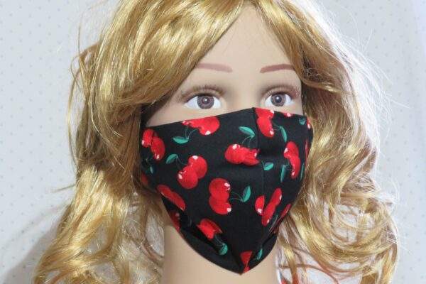 "Alltagsmaske Modell ""Skyline Kids Cherry"" 1"