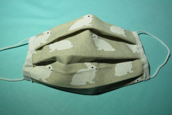 """Alltagsmaske Modell """"Liberty White Rabbit"""" 3"""