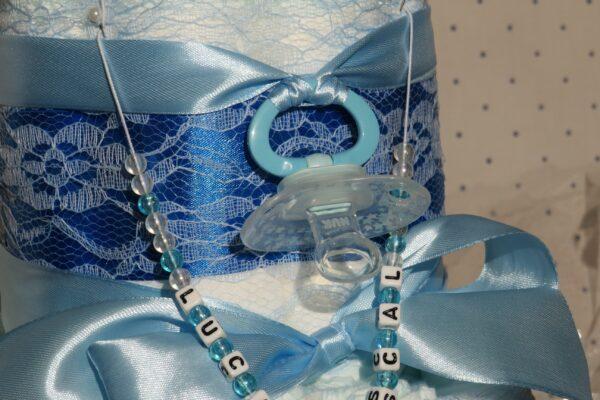 *Windeltorte-Seehund * Geschenk zur Geburt, Taufe, Babyparty * handgefertigt * 3
