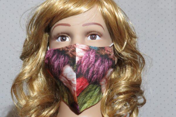 "Alltagsmaske Modell ""Skyline Kids Farbenpracht"" 1"