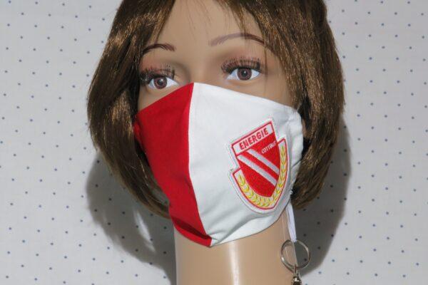 "Alltagsmaske Kundenwunsch ""Fußball-Fan"" 1"