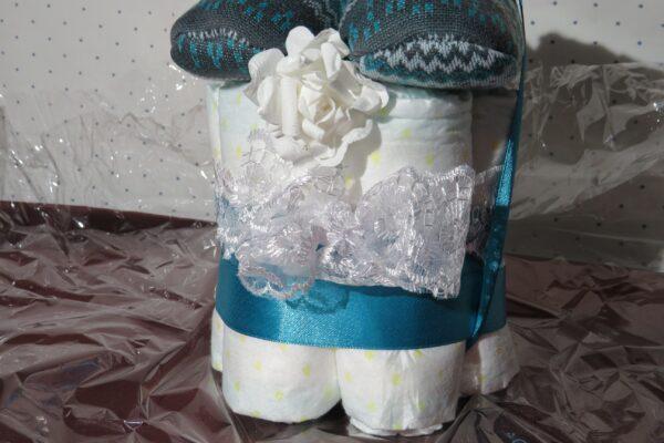 """""""Cupcake"""" * Windeltorte * Junge * Geschenk zur Geburt, Taufe, Babyparty 3"""