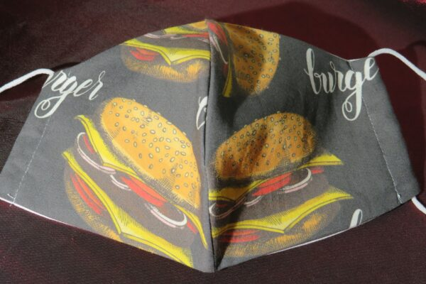 "Alltagsmaske Modell ""Skyline Hamburger"" 2"