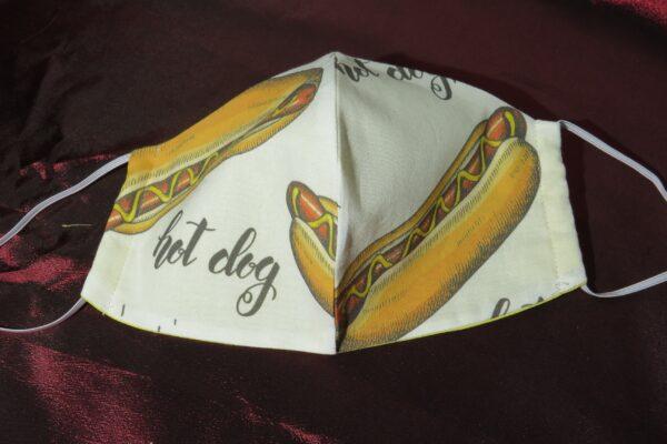 """Alltagsmaske Modell """"Skyline Hotdog"""" 2"""