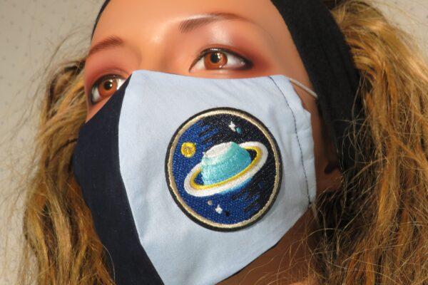"""Alltagsmaske Modell """"Skyline Saturn 1"""" 5"""