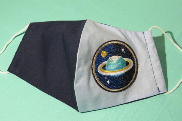 """Alltagsmaske Modell """"Skyline Saturn 1"""" 2"""