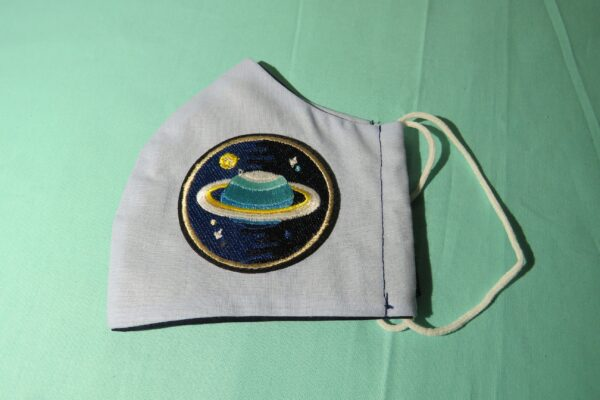 """Alltagsmaske Modell """"Skyline Saturn 1"""" 4"""