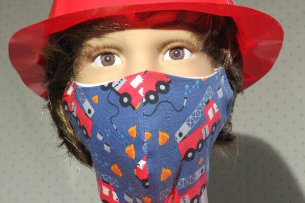 "Alltagsmaske Modell ""Skyline Kids Feuerwehrmann"" 1"