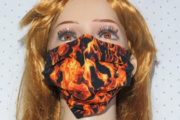 "Alltagsmaske Modell ""Liberty Flammen"" 1"
