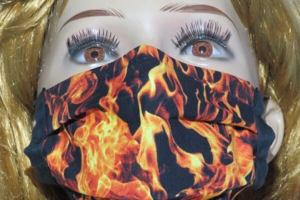 "Alltagsmaske Modell ""Liberty Flammen"" 5"