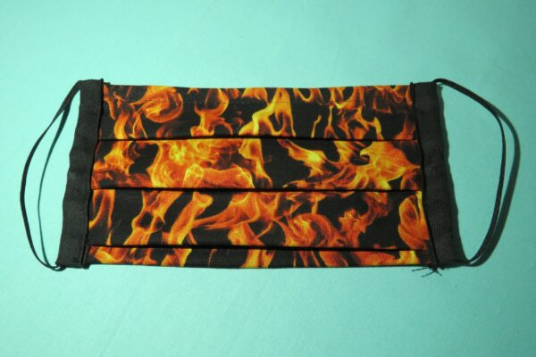 "Alltagsmaske Modell ""Liberty Flammen"" 2"