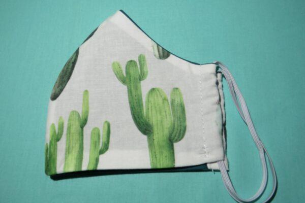 """Alltagsmaske Modell """"Skyline Kaktus"""" 4"""