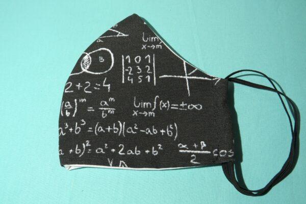 """Alltagsmaske Modell """"Skyline Mathematik"""" 4"""