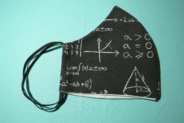 """Alltagsmaske Modell """"Skyline Mathematik"""" 5"""